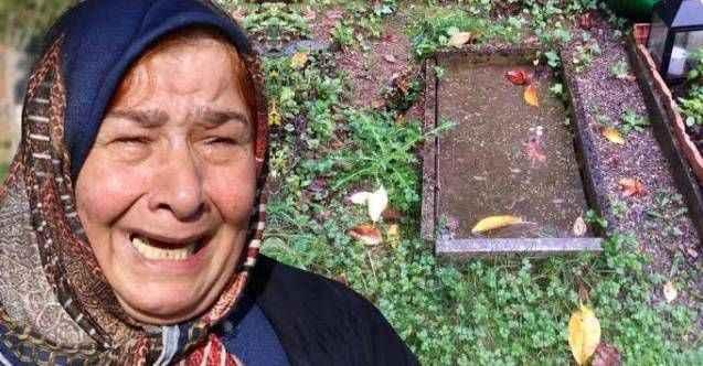 Mezarlık süslenince acı gerçeği öğrenen aile, adeta yıkıldı