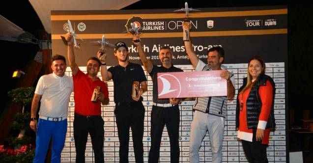 Turkish Airlines Pro-Am sona erdi: Alanyalı turizmci Üçdan şampiyon oldu!
