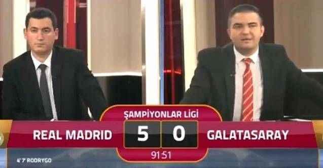 GS TV'de skandal sözler: 5'e razıydık