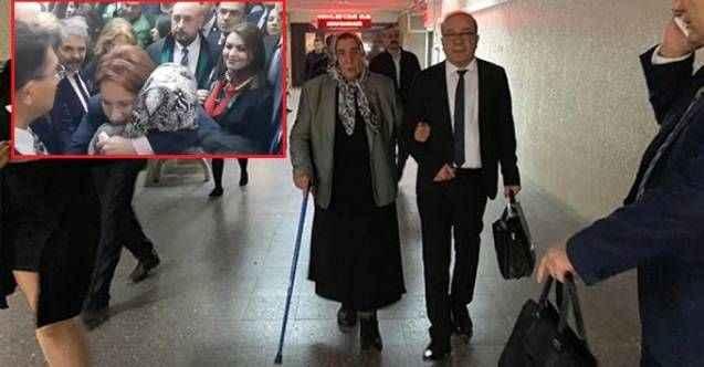 Erdoğan şikayetini çekti! Şehit annesi ilk duruşmada beraat etti