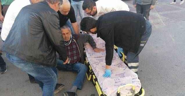 Manavgat'ta geri manevra yapan kargo aracının altında kalan vatandaş yaraladı
