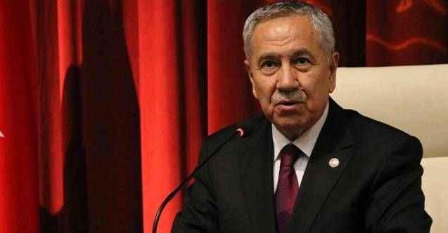 """Erdoğan'ın """"Esefle kınıyorum"""" dediği Arınç'tan yanıt geldi"""