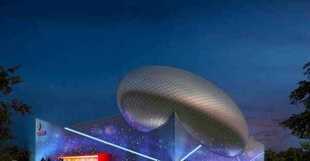 Türkiye'nin uzay temalı ilk binası, Avrupa'dan ödül aldı