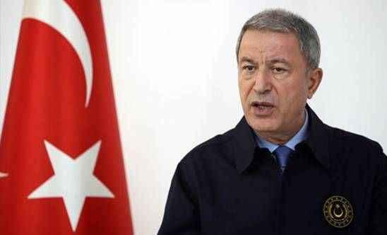 Bakan Akar'dan güvenli bölge açıklaması: Teröristler çekilmedi