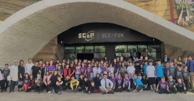 Öğrenciler EXPO Bilim Fuarı'nda