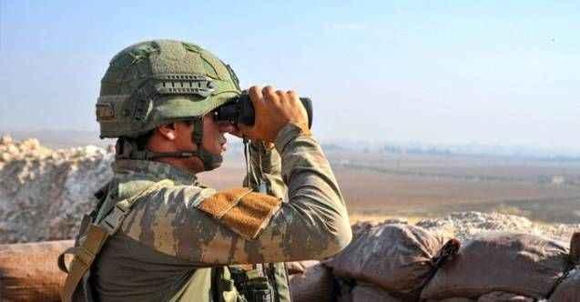 Teröristlerin Barış Pınarı Harekatı bölgesine tacizleri sürüyor!