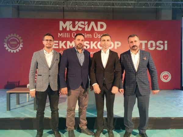 Alanya'yı Tekirdağ'da temsil ettiler: MÜSİAD Alanya, TEKMÜSKOOP açılışında!
