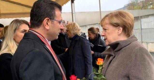 İBB Başkanı Ekrem İmamoğlu'ndan Almanya Başbakanı Angela Merkel'e İstanbul daveti
