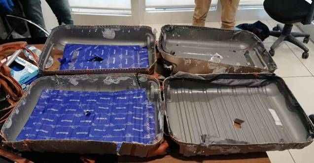 Valizinde uyuşturucuyla yakalanan İranlı gözaltına alındı
