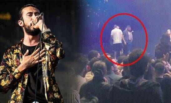 Konserde skandal! Gazapizm seyirciye saldırdı