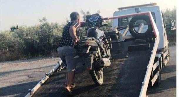 Antalya'da gürültü yapan motosikletliye jandarmadan af yok