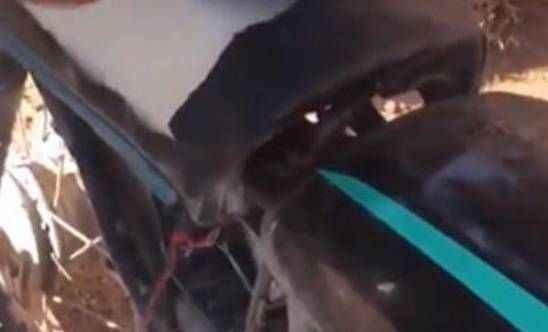 Bomba yüklü motosiklet etkisiz hale getirildi!