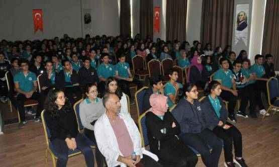 Gazipaşa'da öğrencilere trafik eğitimi