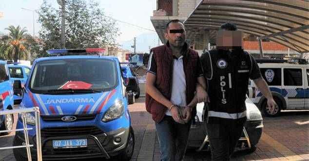 Alanya'da üzerinden uyuşturucu çıkan şüpheli tutuklandı!