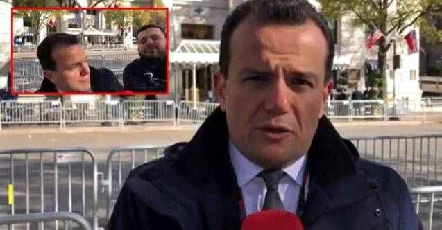 PKK yandaşı canlı yayında TRT muhabirine saldırdı!