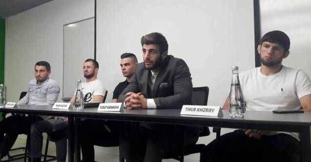 Antalya'da MMA heyecanı