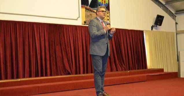 Başhekim Lakadamyalı, Alanya'da lise öğrencileriyle buluştu
