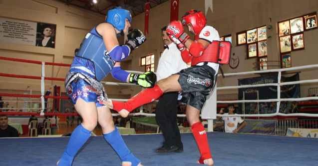 Alanya'da Muay Thai heyecanı