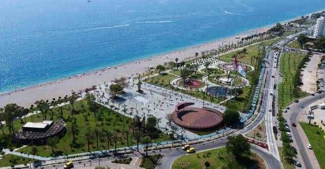 Başkan Böcek'e Sahil Antalya daveti