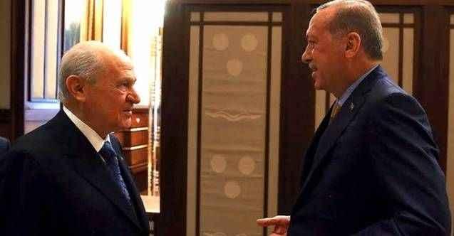 Erdoğan ve Bahçeli'nin yüzünü güldürecek araştırma! İşte partilerin oy oranları