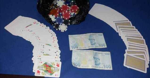 Alanya'da şok kumar baskını!