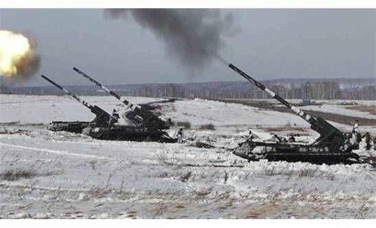 Rusya peş peşe ateşledi!