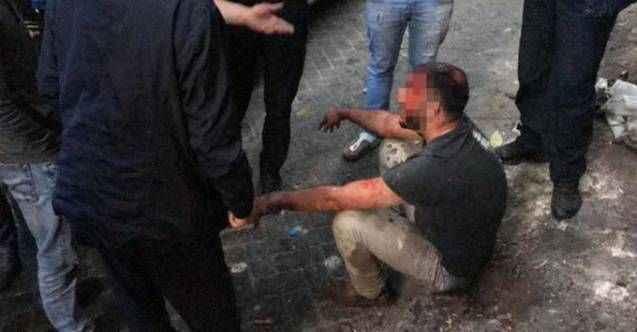 Tarlabaşı'nda taciz iddiası! Mahalleli öldüresiye dövdü