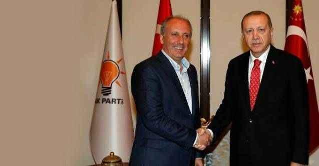 """""""Erdoğan'la görüşen isim İnce'dir"""" diyen isim pişman oldu"""