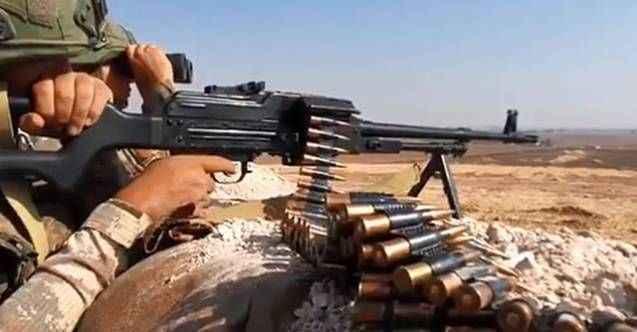 'PKK/YPG'nin taciz atışlarına karşılık verildi'