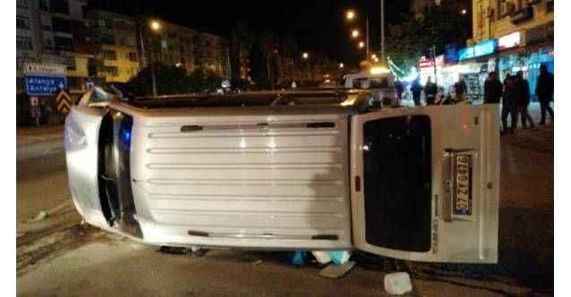Gazipaşa'da feci kaza: 3 yaralı