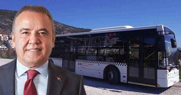 Böcek'e Alanyalılardan otobüs ücreti tepkisi! Öğrencide indirim yaptı vatandaşa bindirdi