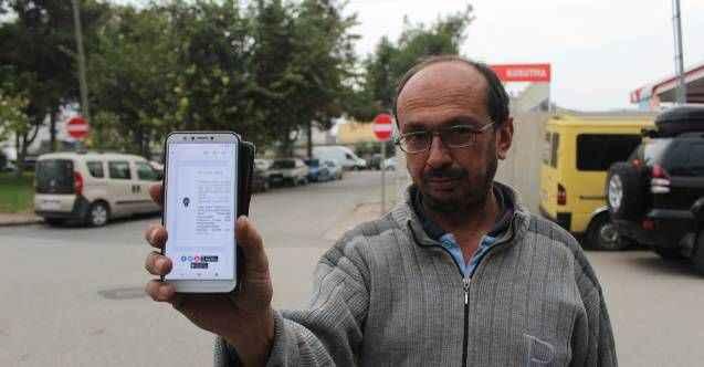 Antalya'da mobilya ustası 20 metrelik yolda yarım saatte 2 ceza yedi