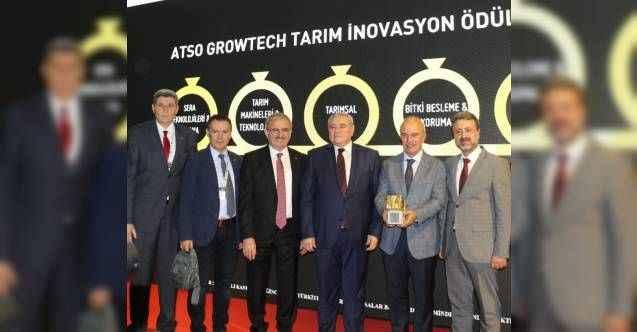 ATSO Growtech Tarım İnovasyon Ödülleri sahiplerini buldu