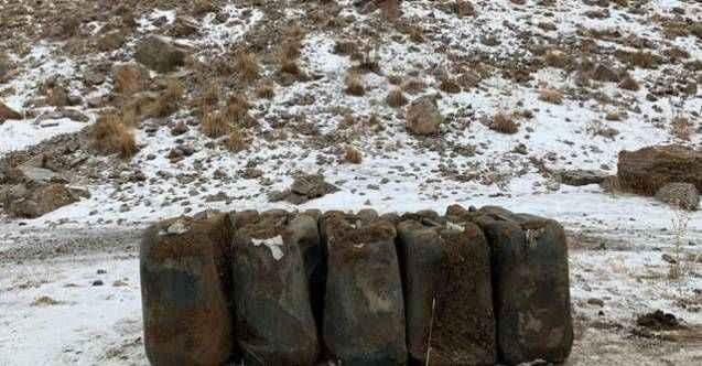 PKK'ya ait 2 ton 'amonyum nitrat' ele geçirildi