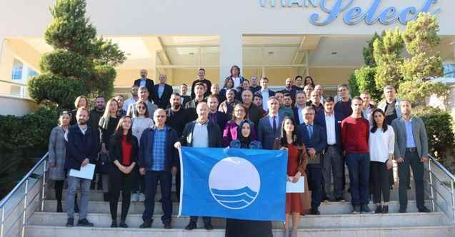 Alanya'da mavi bayrak için toplandılar