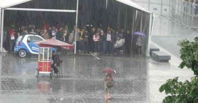Meteoroloji vatandaşları uyardı! Yağmur geliyor