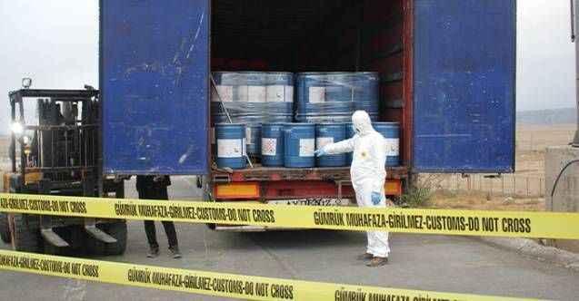 Sınırda 18 tonluk siyanür operasyonu! Türkiye'ye sokacaklardı