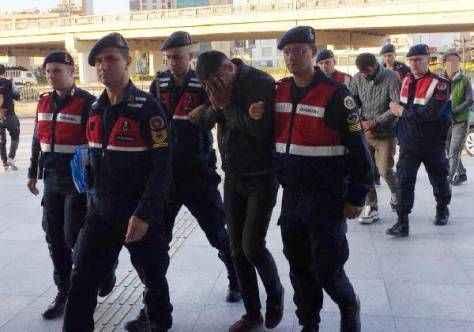 Serik'te dinamo hırsızları tutuklandı