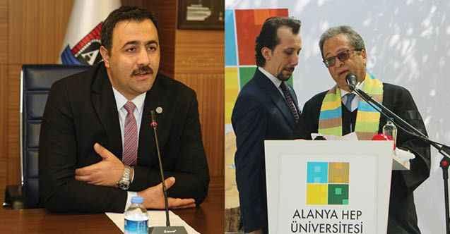Alanya rektörleri Antalya protokolünde yok