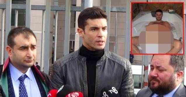 Mahrem görüntüleri ortaya çıkan ünlü oyuncudan adliye önünde ilk sözler