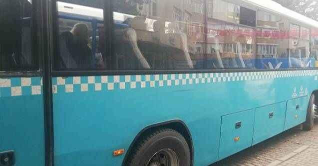 Otobüste uyuyan kadına taciz iddiası ortalığı karıştırdı