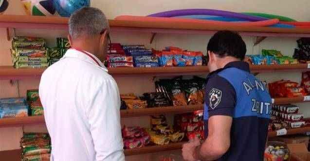 Alanya'da okul kantinleri denetlendi, 15 işletmeciye ceza kesildi