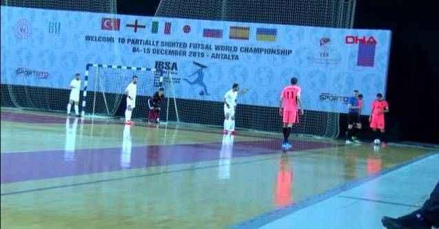 Spor görme engelliler futsal milli takımı, dünya dördüncüsü oldu