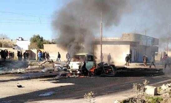 Terör örgütünden bombalı saldırı! 3'ü çocuk 5 sivil öldü