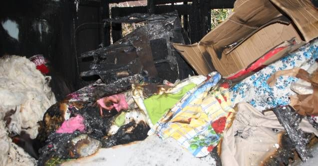 Manavgat'ta yangın 3 genç kızın hayallerini yok etti