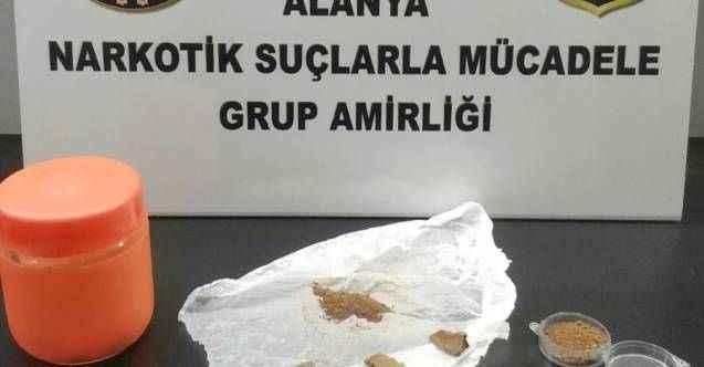 Alanya'da narkotikten uyuşturucu avı: 1 kişi tutuklandı