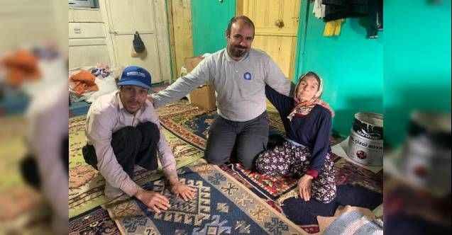 İbradı ve Akseki'de 10 yaşlı bireyin evine bakım yapıldı