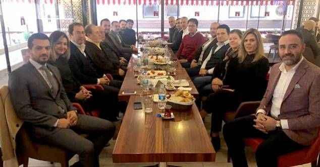 Ak Partili eski ve yeni yöneticiler Alanya siyasetinin nabzını tuttu