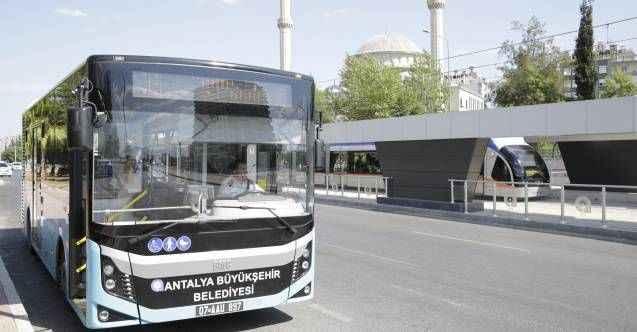 Antalya'da toplu ulaşıma sesli ikaz sistemi geliyor