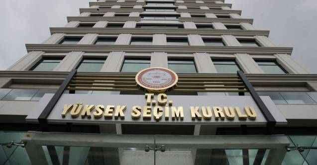 YSK seçime girebilecek 15 partiyi açıkladı! Davutoğlu'nun partisi listeye giremedi